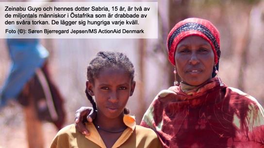 ActionAid hälsning från östafrika